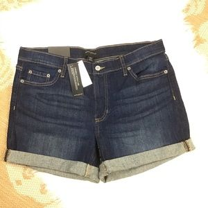 Banana Republic Dark Wash Jean Shorts